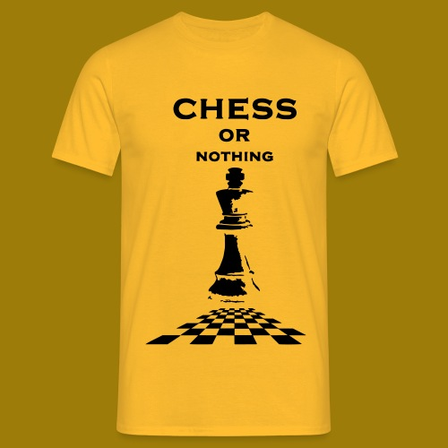 T-shirt classica Uomo Chess or Nothing King - Maglietta da uomo