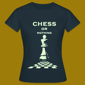 T-shirt classica Donna Chess or Nothing King Fluo - Maglietta da donna