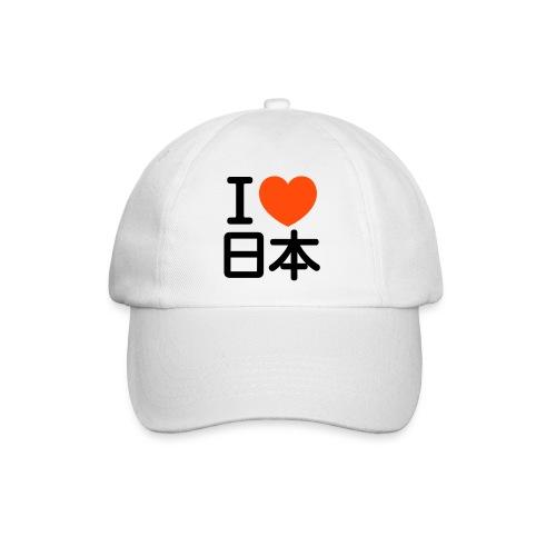 I love Nihon Baseball Cap - Baseballkappe