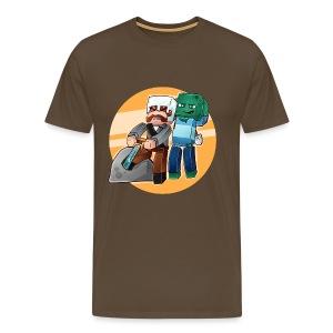 Typisk Addexio! - Premium T-skjorte for menn