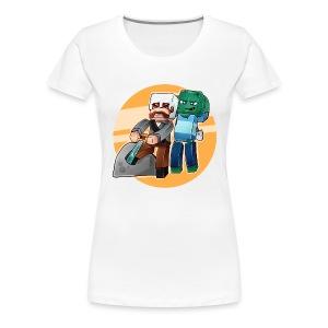 Typisk Addexio! - Premium T-skjorte for kvinner