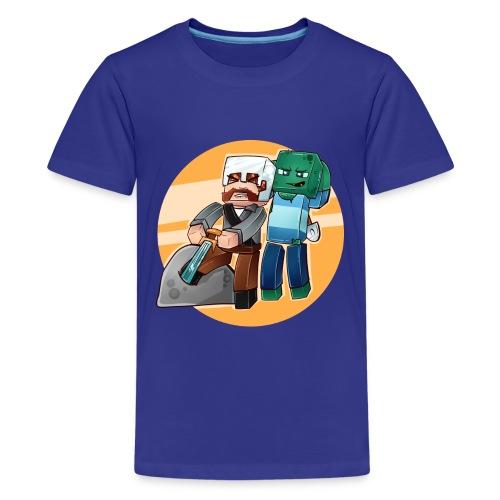 Typisk Addexio! - Premium T-skjorte for tenåringer