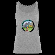 Tops ~ Camiseta de tirantes premium mujer ~ LA TINA A MONTSERRAT (cat)