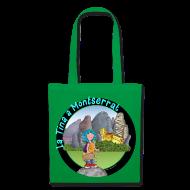Bolsas y mochilas ~ Bolsa de tela ~ LA TINA A MONTSERRAT (cat)