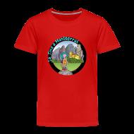 Camisetas ~ Camiseta premium niño ~ LA TINA A MONTSERRAT (cat)