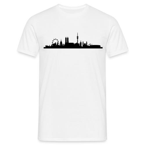 Silhouette München  - Männer T-Shirt