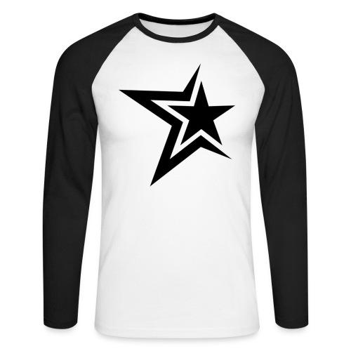 T-Shirt maniche lunghe Star Fruit of the Loom - Maglia da baseball a manica lunga da uomo