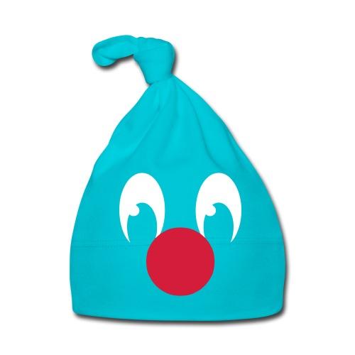 Clown, yeux et nez rouge - Bonnet Bébé