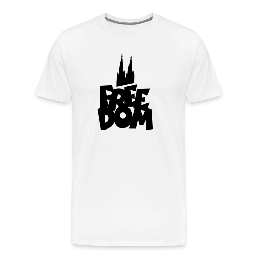 FREE DOM S-5XL Köln T-Shirt - Männer Premium T-Shirt