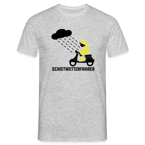 Schietwetterfahrer Männer Shirt - Männer T-Shirt