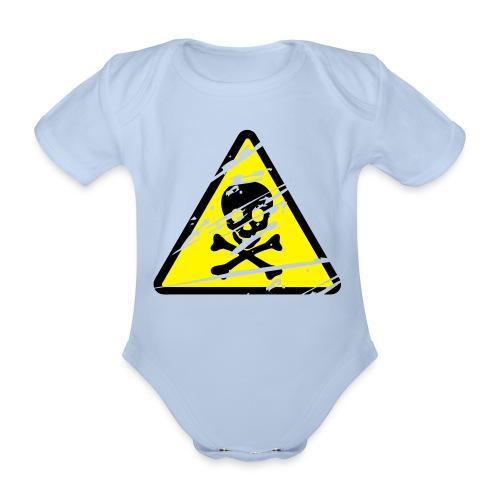 Toxic Baby - Kortærmet babybody, økologisk bomuld