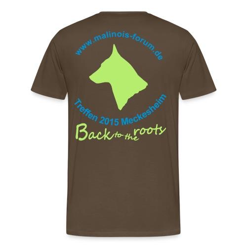 Herren T-Shirt - Männer Premium T-Shirt
