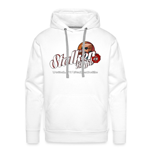 Men's Premium Hoodie - Men's Hooded Sweatshirt from Continental and with original Stalkerkoffie logo.