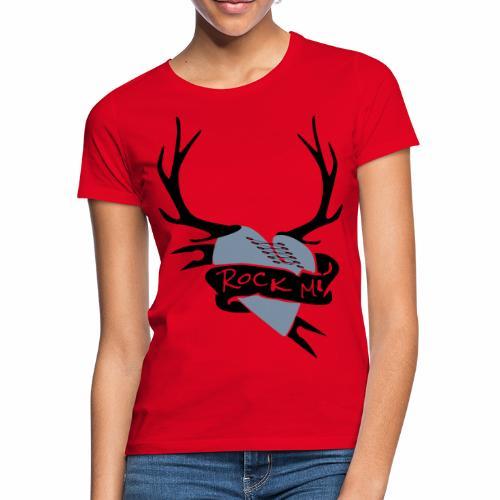 Frauen T-Shirt - österreich t-shirt,wild t-shirt,tracht t-shirt,oktoberfest t-shirt,lederhose,lausmadl,hirsch t-shirt,edelwild,dirndl,Gaudishirt