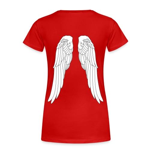 Frauen T-Shirt Engel Flügel Angel Elfe Fee - Women's Premium T-Shirt