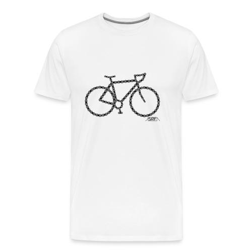 Bike chain - T-shirt Premium Homme