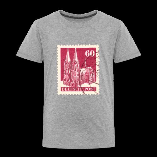 Köln Briefmarken (1948 Rot) Kinder T-Shirt - Kinder Premium T-Shirt