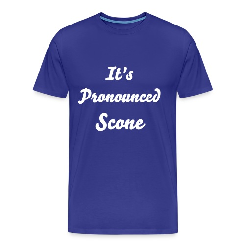 It's Pronounced Scone (Men's T-shirt) - Men's Premium T-Shirt