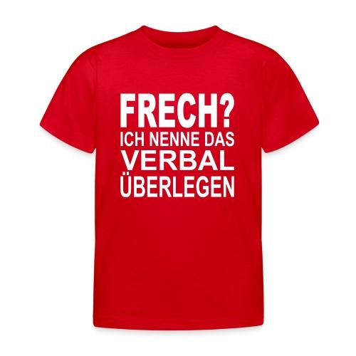 Kinder T-Shirt Frech - Kinder T-Shirt