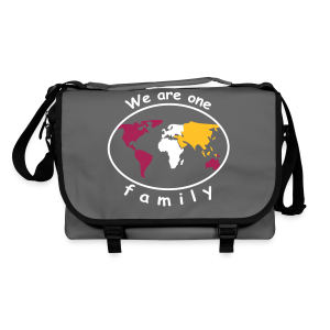 TIAN GREEN Tasche Bag 01 - We are one family - Umhängetasche