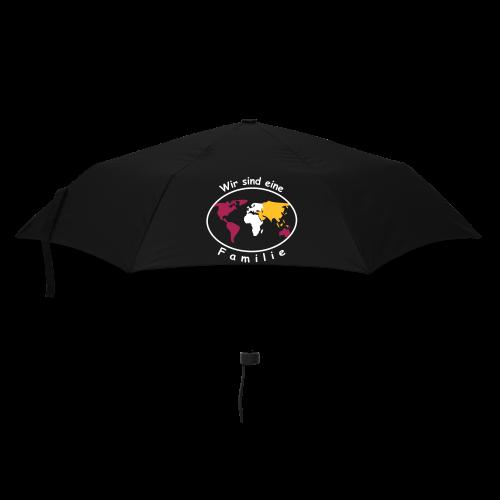 TIAN GREEN Regenschirm  - Wir sind eine Familie - Regenschirm (klein)