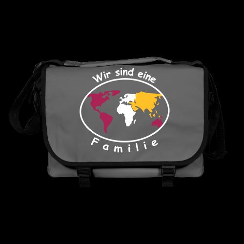TIAN GREEN Tasche Bag 01 - Wir sind eine Familie - Umhängetasche