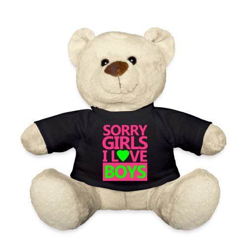 bear i love boys - Teddy