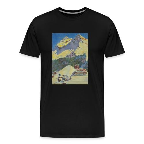 Schweizer Berge  - Männer Premium T-Shirt