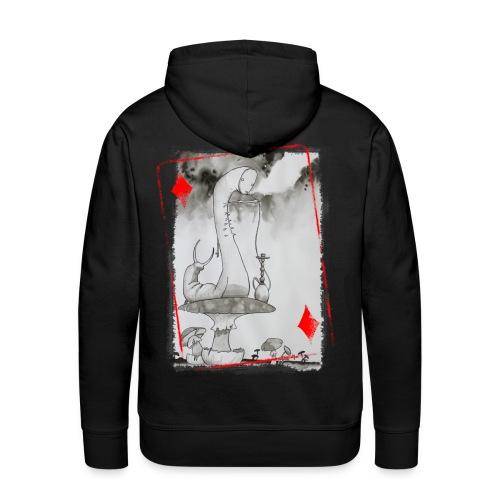Sweat 2 Carte Chenille Homme - Sweat-shirt à capuche Premium pour hommes