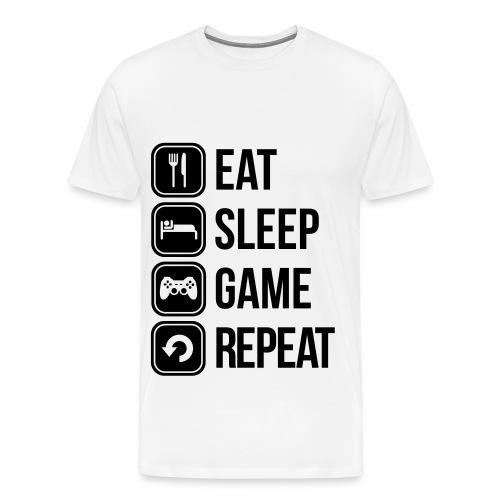 Gamershirt - Männer Premium T-Shirt