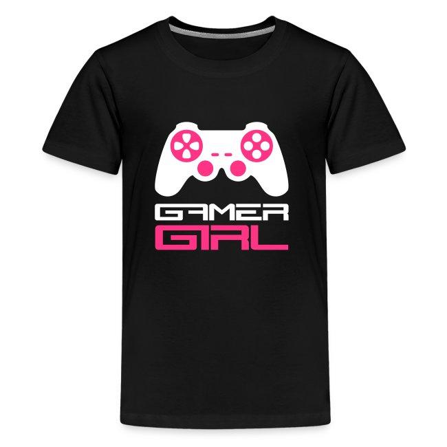 Teenagers Gamer Girl T-Shirt
