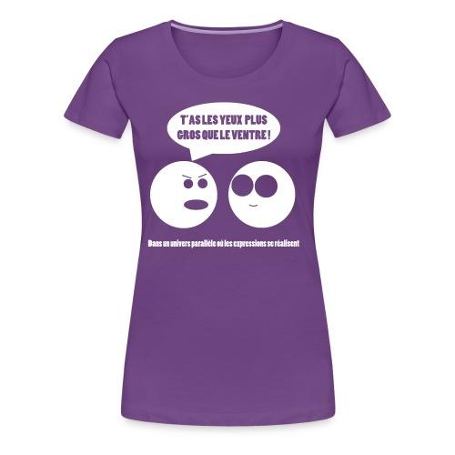 Pendant ce temps-là 2 (F) - T-shirt Premium Femme