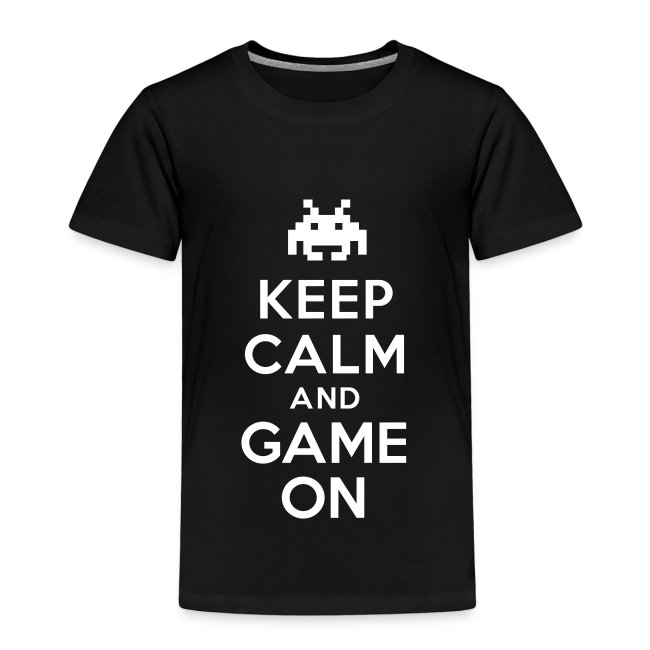Kids Keep Calm Game T-Shirt