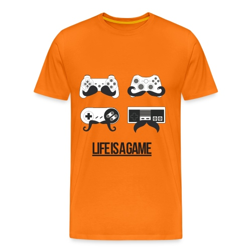 Mens Life Is A Game T-Shirt - Men's Premium T-Shirt