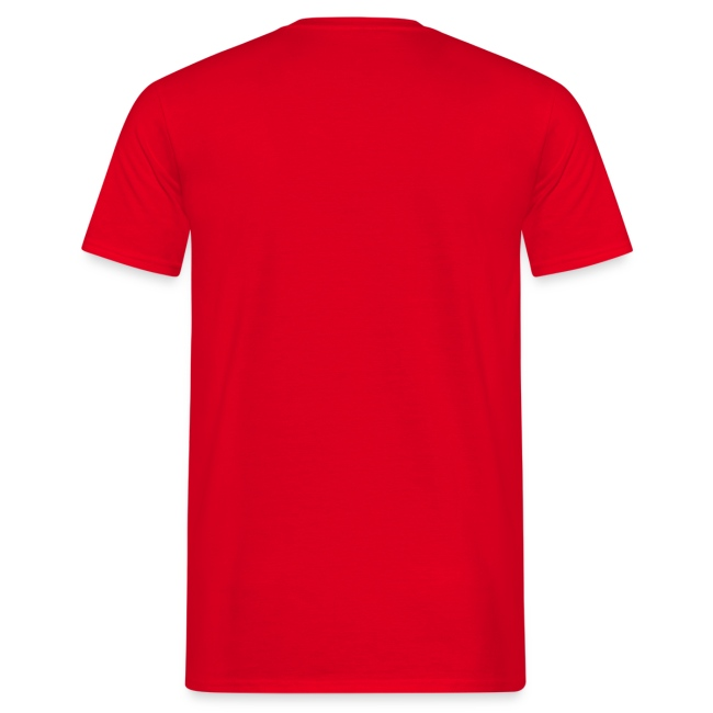 Leaether Strip - Logo 1 : T-Shirt - red