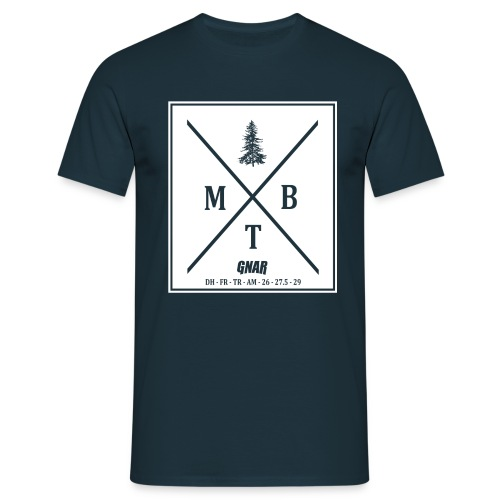 Men's Block MTB Tee - Men's T-Shirt
