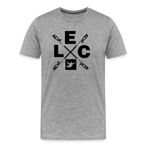 Skydiver Cross - Männer Premium T-Shirt