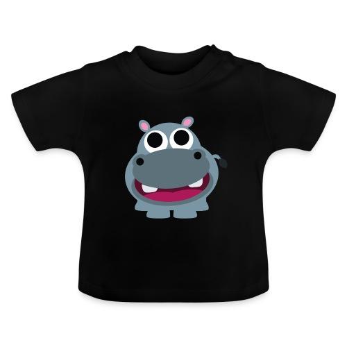 Nilpferd - Flusspferd - Baby T-Shirt