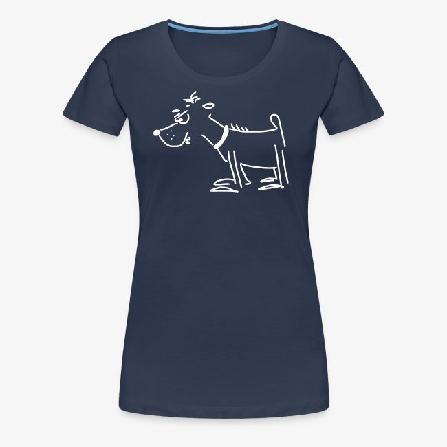 Girlieshirt mit Terror-Terrier
