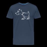 T-Shirts ~ Männer Premium T-Shirt ~ Girlieshirt mit Terror-Terrier