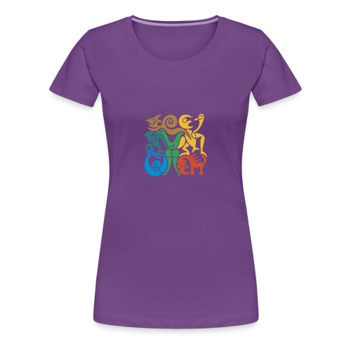 Akrobatik-Frauenshirt - Frauen Premium T-Shirt