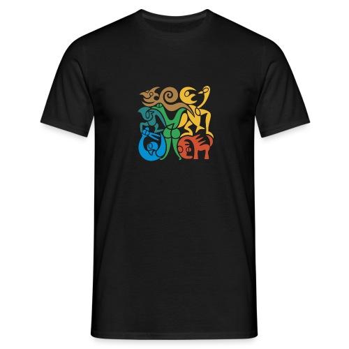 Akrobatik-Männershirt - Männer T-Shirt