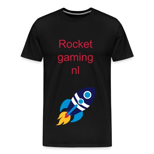 Rocketgaming nl t-shirt - Mannen Premium T-shirt
