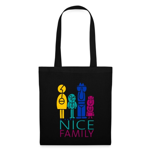 Nice Family-Stofftasche - Stoffbeutel