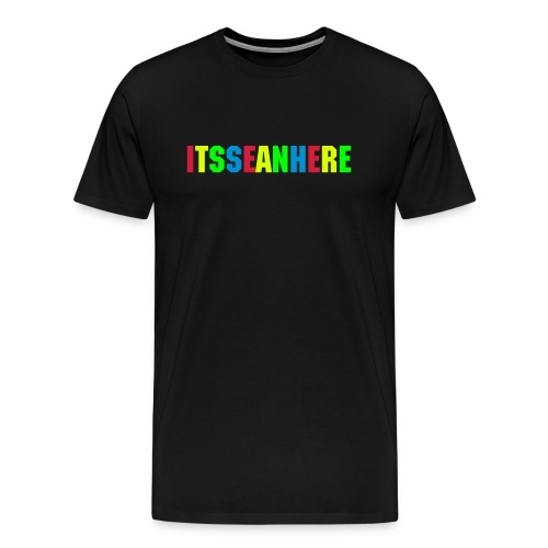 ItsSeanHere Official Rainbow Tee - Men's Premium T-Shirt