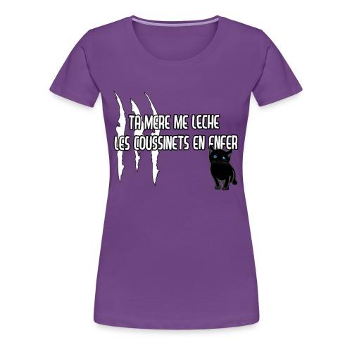Les coussinets (F) - T-shirt Premium Femme