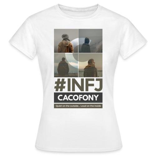 INFJ Quiet Outside Loud Inside - Dark - Women's T-Shirt