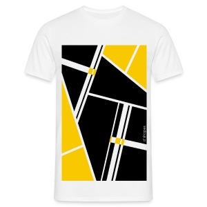 Blocks Yellow- Man T-shirt   - Maglietta da uomo
