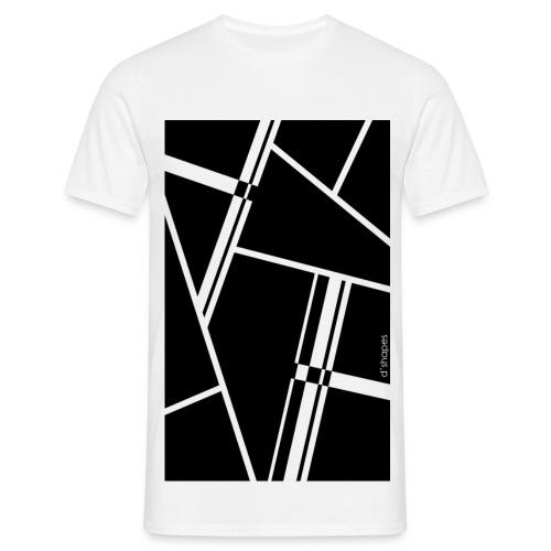 Blocks Black - Man T-shirt   - Maglietta da uomo