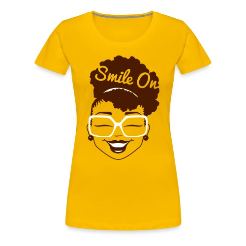 Smile On Ladies Tee - Women's Premium T-Shirt